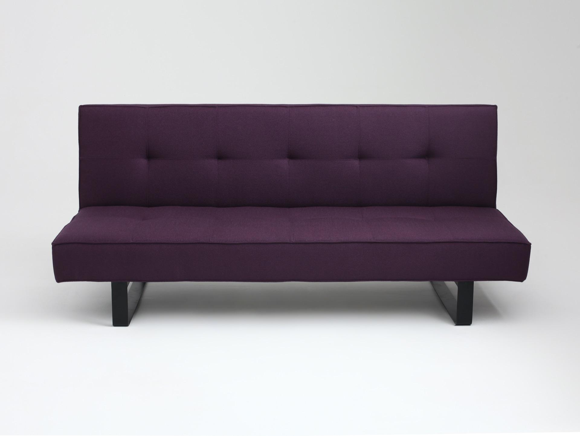 2-Sitzer Schlafsofa Glatter