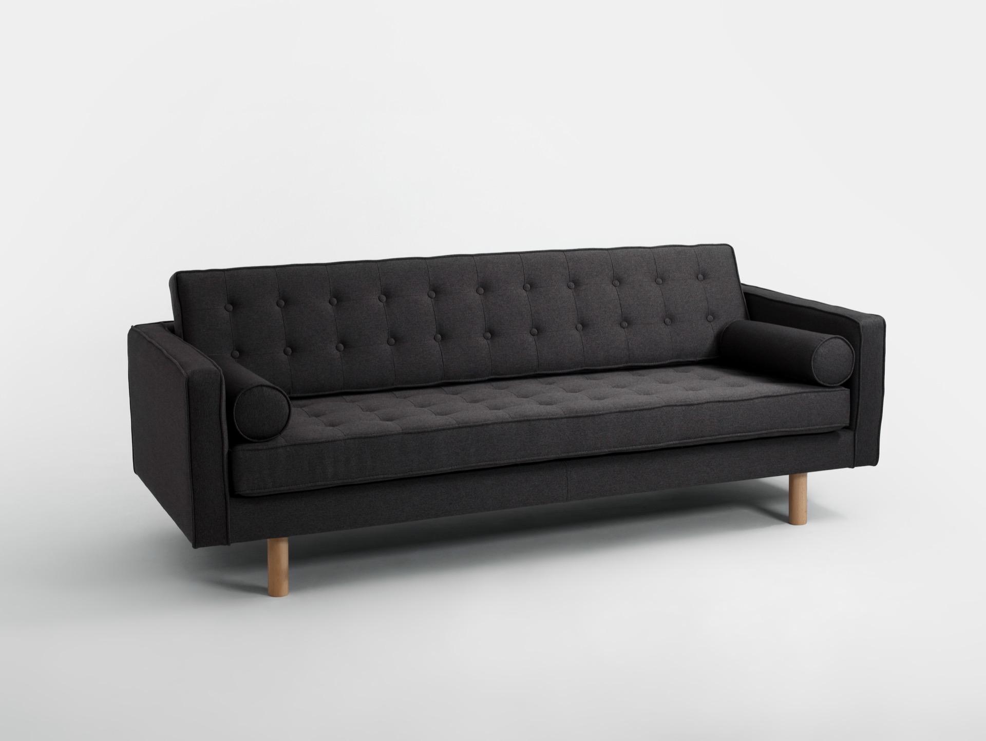 3-Sitzer Sofa TOPIC Holz