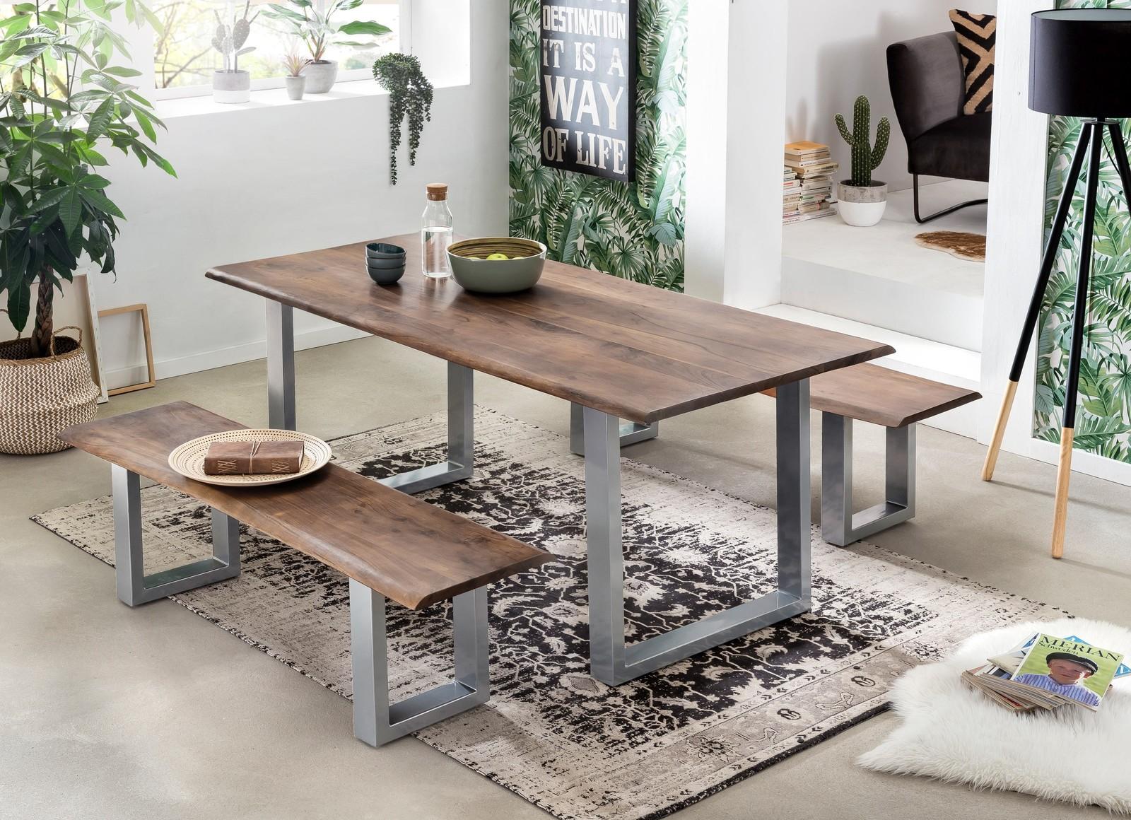 TISCHE & BÄNKE Tisch 120 x 80 cm